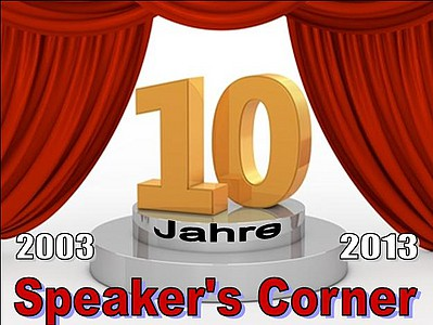 10 Jahre Speakers Corner