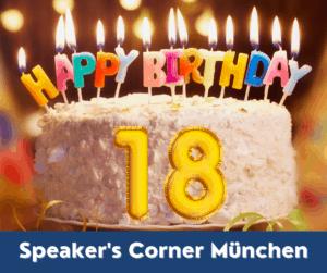 18 Jahre Speaker's Corner